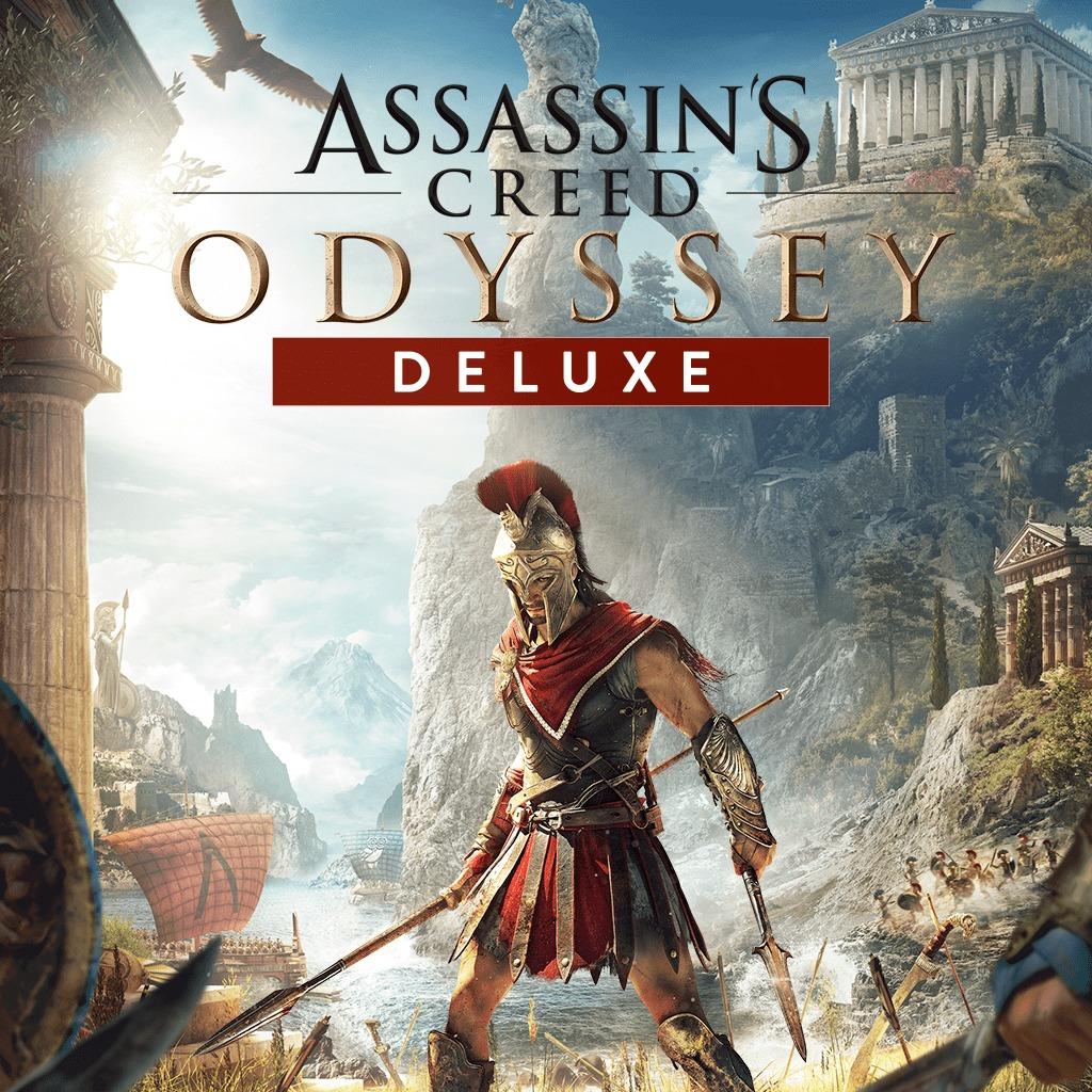 Assassin's Creed Odyssey - Édition Deluxe sur PS4 (dématérialisé)