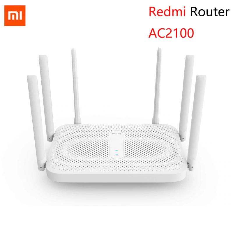 Routeur Wi-Fi Xiaomi Redmi MiWiFi AC2100 - 6 antennes, double-bandes (2.4/5 GHz), 2033 Mbps, NetEase UU