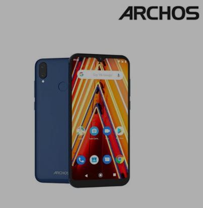 """Smartphone 6.26"""" Archos Oxygen 63 - 64 Go avec coque et film de protection"""