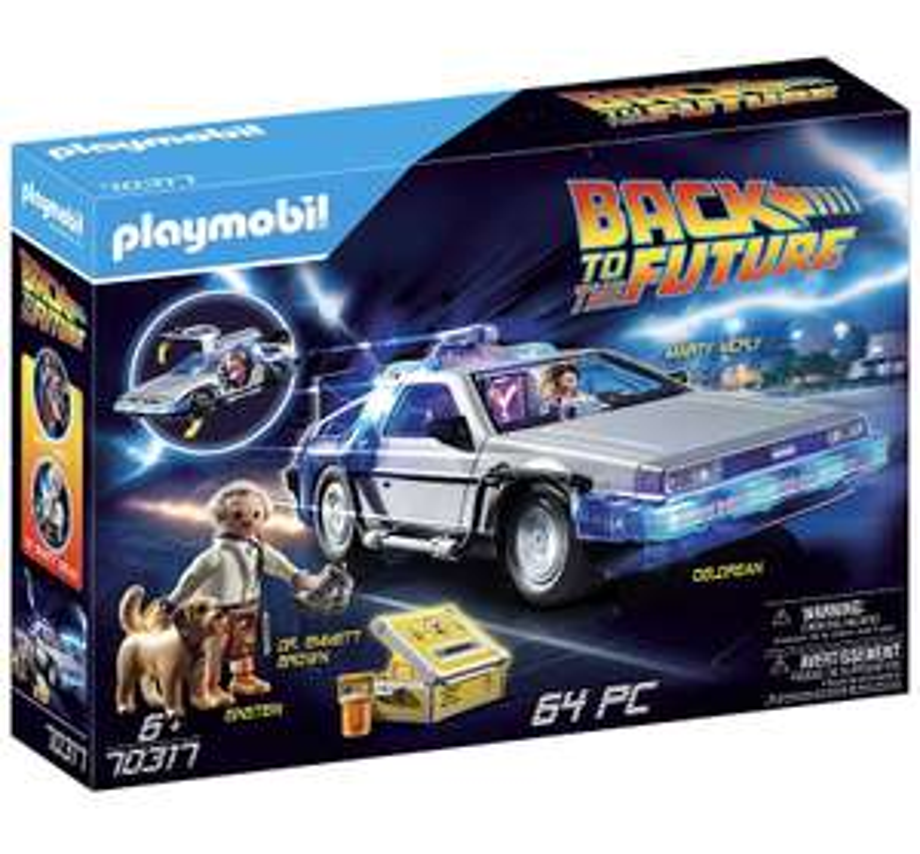 Playmobil Retour vers le Futur 70317 - DeLorean