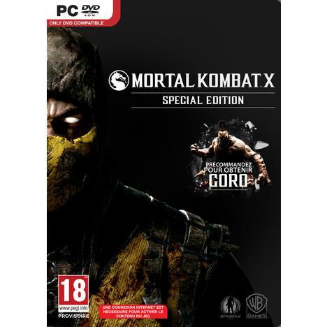 Jeu Mortal Kombat X sur PC - Spécial Edition
