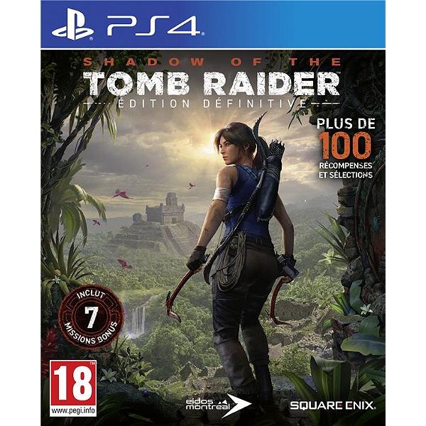 Jeu Shadow of the Tomb Raider : Definitive Edition sur PS4 (Dématérialisé)