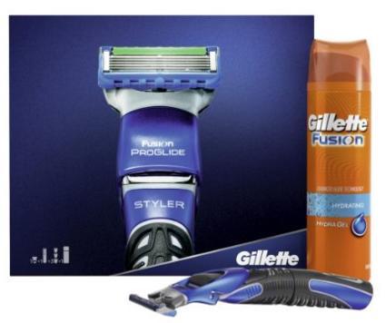 Pack Gillette ProGlide Styler + Gel de rasage pour peau sensible - 200 ml