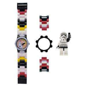 Sélection de montres Lego Star Wars & The Movie - Ex : Montre Star Wars Storm Trooper