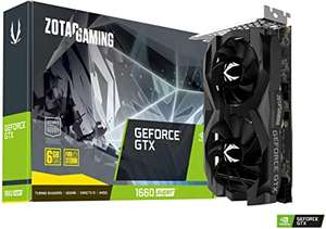 Carte Graphique Gaming Zotac GeForce GTX 1660 Super Twin Fan 6 Go