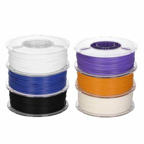 Lot de 7 kg de filaments PLA pour imprimante 3D (en vrac, coloris aléatoires, 1.75 ou 2.85 mm) - MakerShop.fr