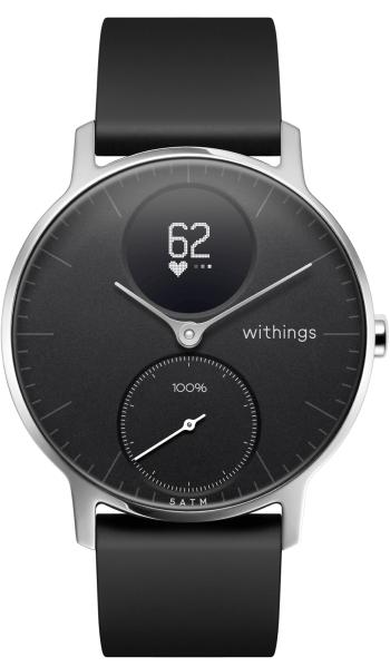 Sélection de montres connectées Withings Steel HR en promotion - Ex : 36 mm, bracelet Sport à 119.95€
