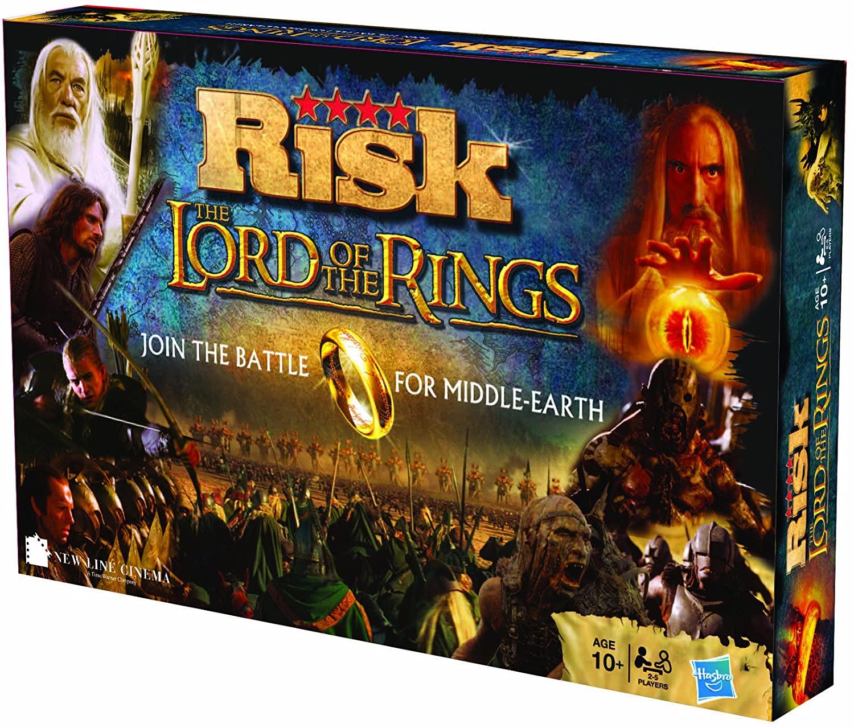 Jeu de société Winning Moves Risk - Édition Le Seigneur des Anneaux