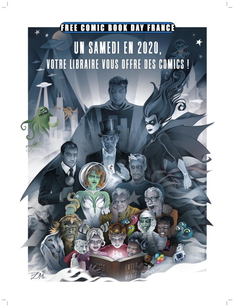 Sélection de Comics offerts pour le Free Comic Book Day 2020 (FCBD) - Dans une sélection de librairies