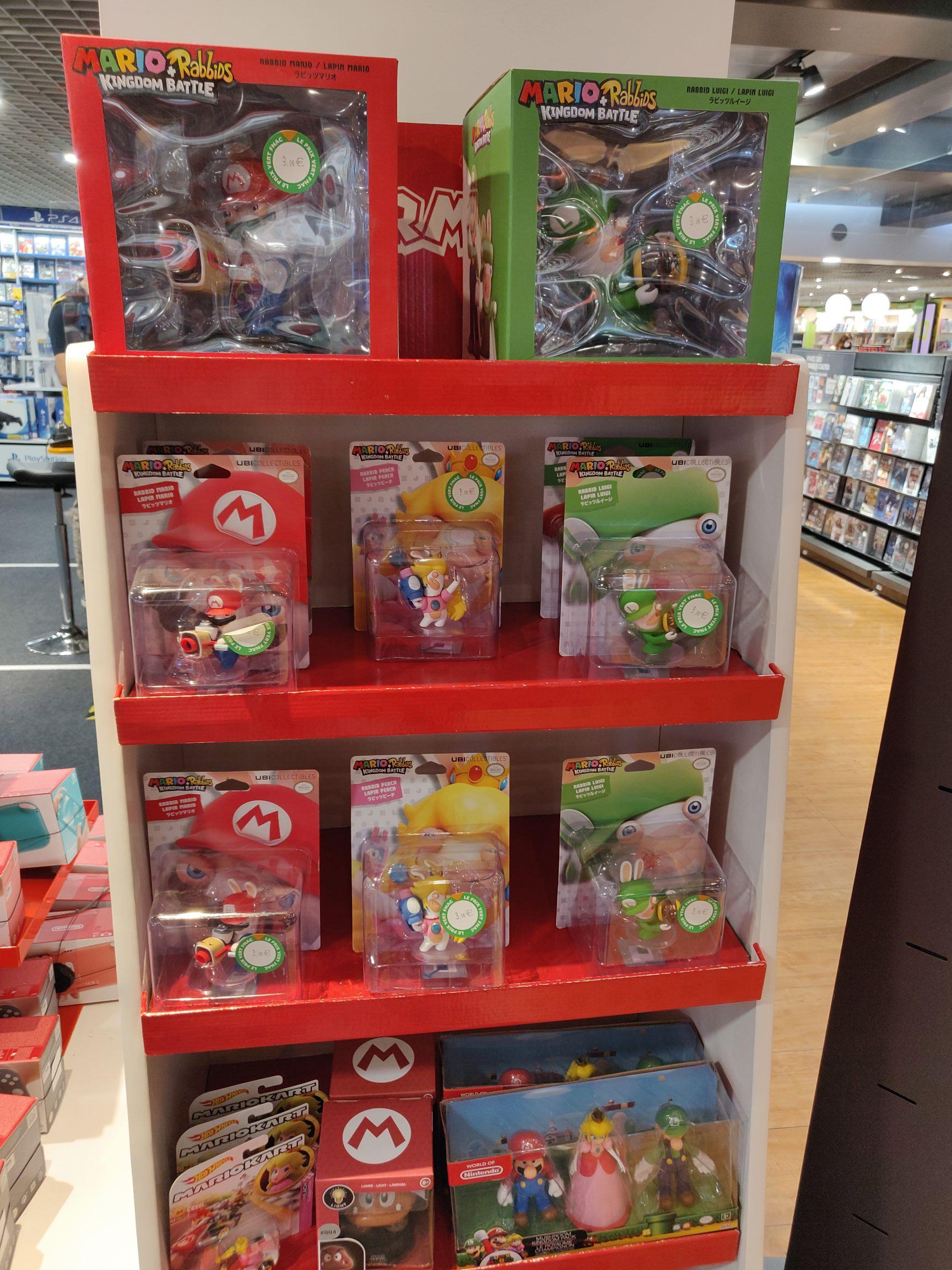 Sélection de figurines Mario + Lapins Crétins Kingdom Battle en promotion - Ex: Figurine 8 cm - Nantes (44)