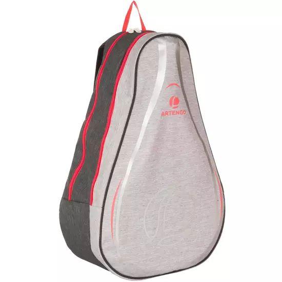 Sac à dos pour raquettes de tennis Artengo 100 BP - gris / rose