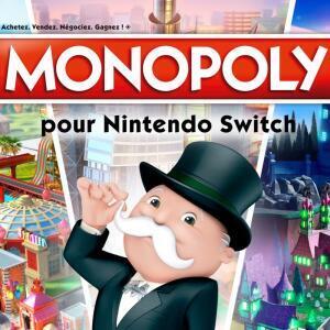 Sélection de jeux en promotion - Ex: Monopoly sur Nintendo Switch (Dématérialisé)