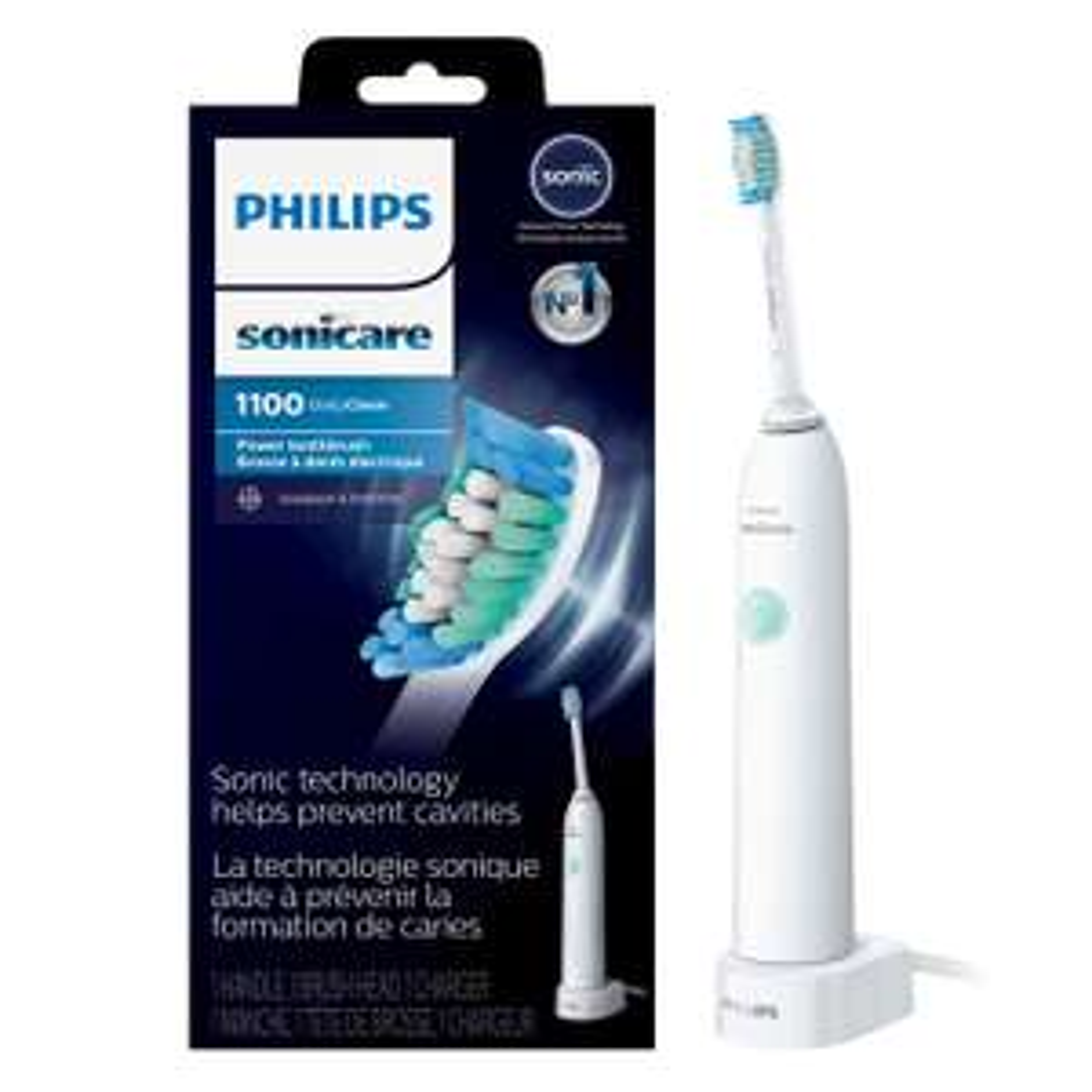 Brosse à dents électrique Philips Sonicare DailyClean 1100 (via 14.95€ sur la carte de fidélité)