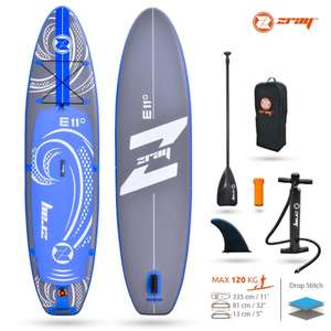 Paddle gonflable Zray evasion E11 (sup-factory.fr)