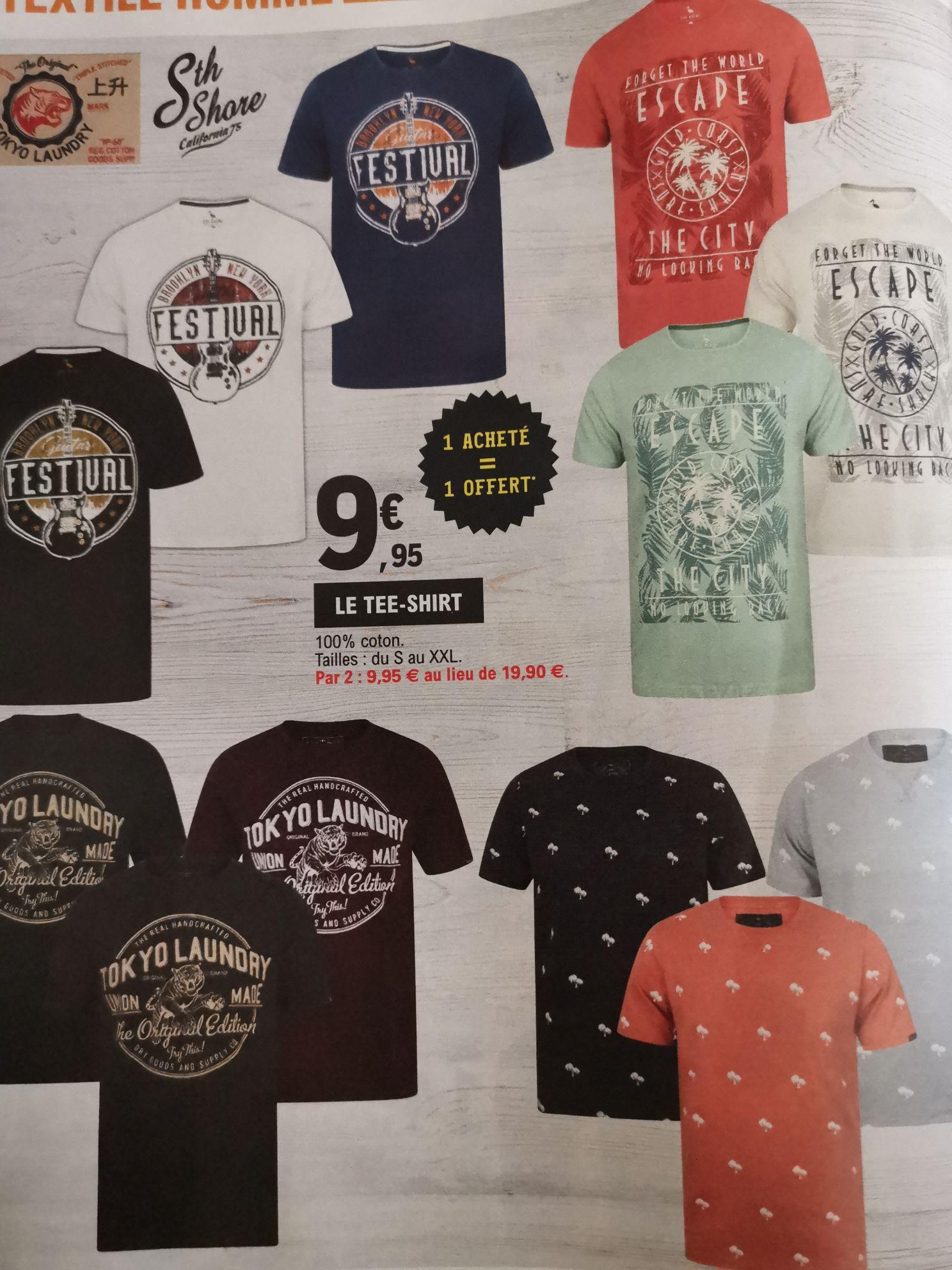 Lot de 2 T-Shirts Tokyo Laundry parmi une sélection