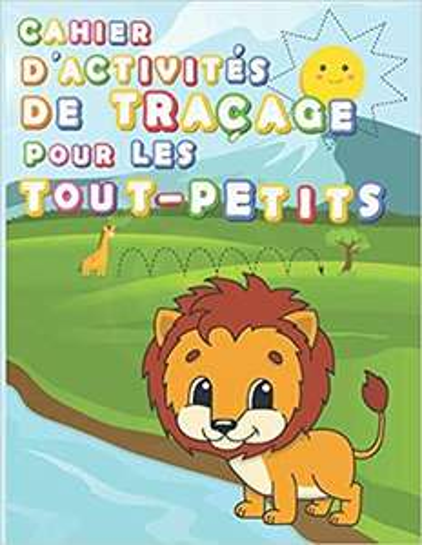 Cahier de jeux pour enfants : Tracer des lignes, des formes et des nombres