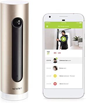 Caméra de Surveillance Intérieure Connectée Netatmo avec Détection de Mouvements & Vision Nocturne - WIFI + Promotions sur la gamme