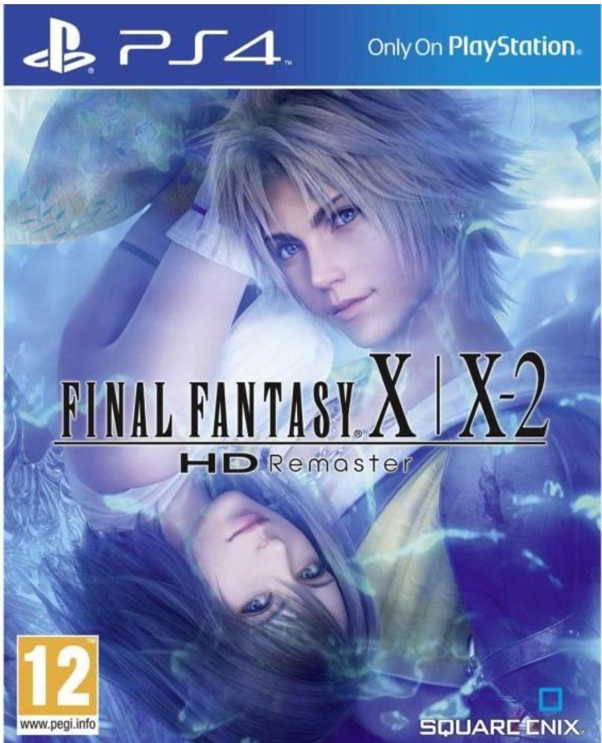 Final Fantasy X|X-2 Hd Remaster sur PS4 (Vendeur Tiers)