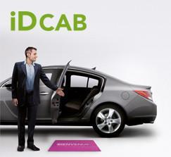 Tous les trajets IDCAB valable dans 6 villes