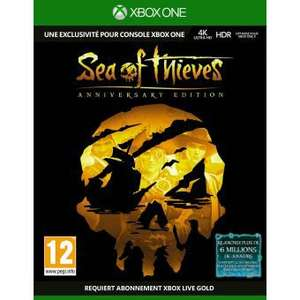 Sea of Thieves Edition Anniversaire sur Xbox One