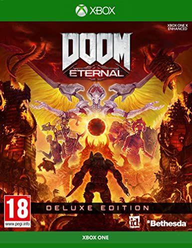 Jeu Doom eternal deluxe edition sur Xbox One