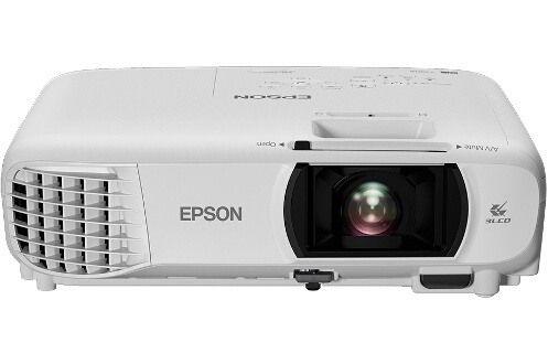 Vidéo projecteur Tri-LCD Home cinéma Epson EH TW-650 - Blanc