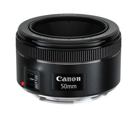 Objectif photo Canon EF 50mm f1.8 STM (+ 4.86€ en SuperPoints)