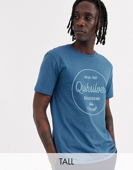 T-shirt Quiksilver à imprimé graphique - Bleu, Tailles: XS et S