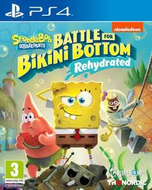 [Précommande] SpongeBob SquarePants: Battle for Bikini Bottom - Rehydrated sur PS4