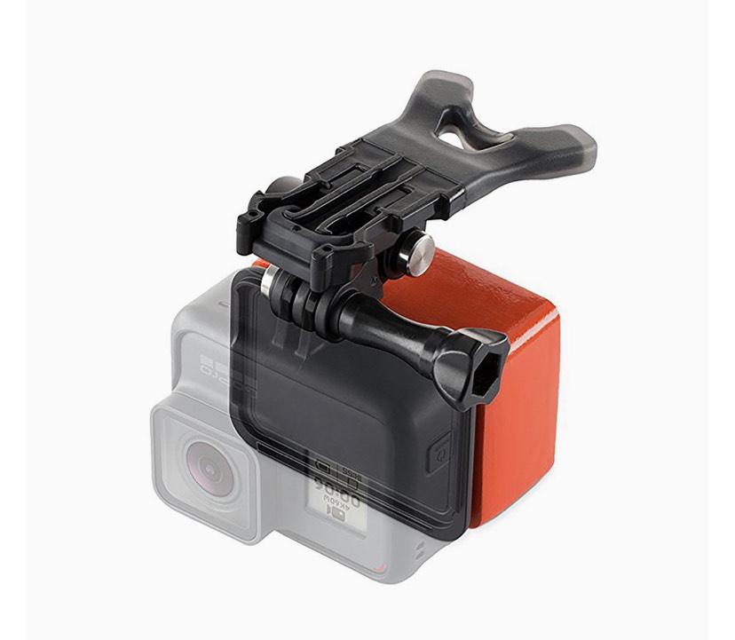 Pack officiel Fixation de bouche + Flotteur Floaty pour caméra sportive GoPro
