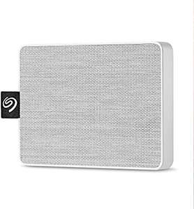 SSD externe Seagate Technology One Touch - 1To, USB3.0, Blanc