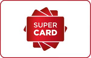E-carte cadeau multi-enseignes Supercard - Ex: Carte cadeau Amazon de 60€ à 50€