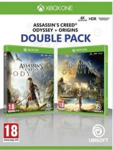 Assassin's Creed Origins + Assassin's Creed Odyssey sur Xbox One (Boulanger)