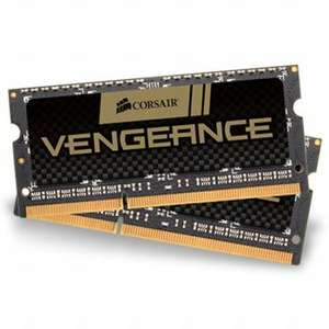 Kit mémoire portable Corsair Vengeance 2 x 4 Go - SO-DIMM DDR3, 1866 MHz, CAS 10