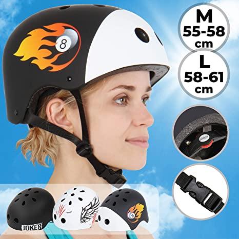 Casque pour roller/vélo/skate - Taille L (vendeur tiers)