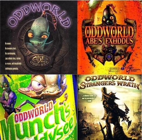 Saga des jeux Oddworld en promotion (Dématérialisé - Steam) - Ex : The Oddbox (4 jeux)