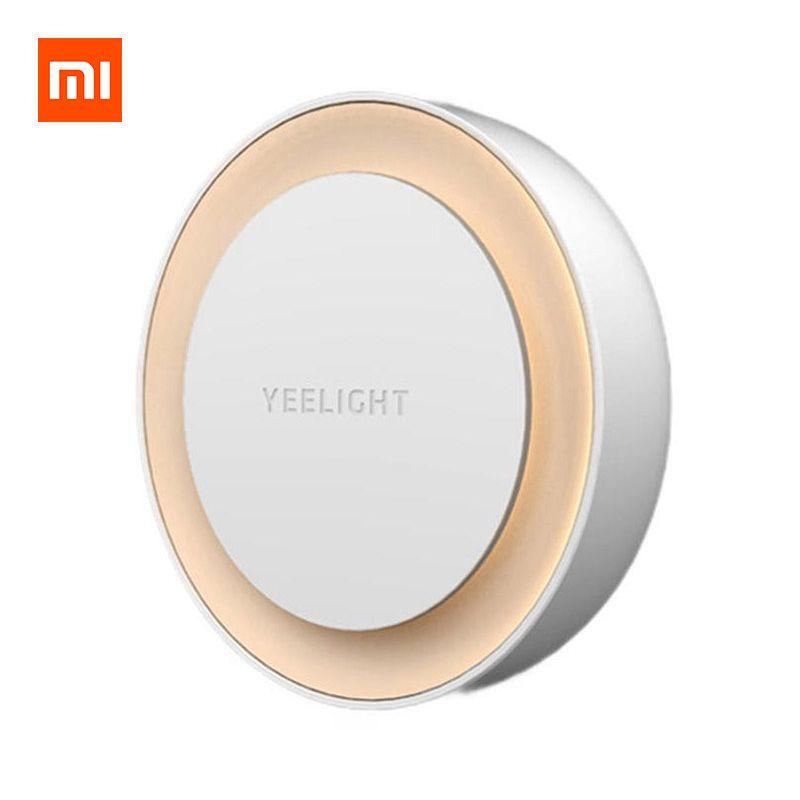 Veilleuse LED Xiaomi Yeelight YLYD10YL - Capteur de lumière, blanc chaud 2700K (Adaptateur EU fourni)