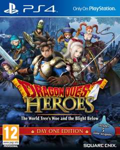 Dragon Quest Heroes - Edition Day One Edition sur PS4