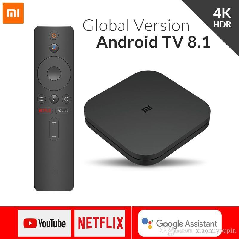 Box Android TV Xiaomi Mi Box S - 4K HDR, Cortex-A53, 2 Go de RAM, 8 Go(41,89€ avec le code DH40Price)