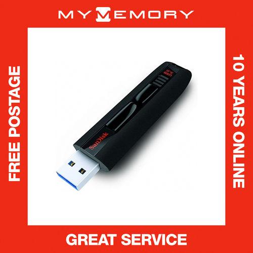 SanDisk 32GB Cruzer Extreme USB 3.0 190 MB/s Flash Drive Memory