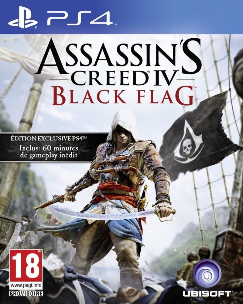 Assassin's creed IV Black Flag sur PS4