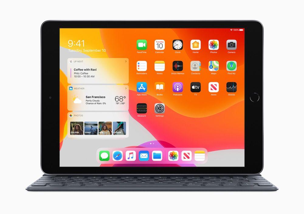 """Tablette 10.2"""" Apple iPad 2019 Wi-Fi - 32Go + 29,89€ en Super Points"""