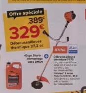 Débroussailleuse thermique Sthil FS70+ Motomix