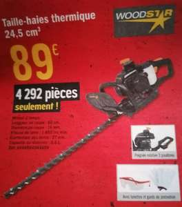 Taille-haie thermique Woodstar - 24.5 cm3