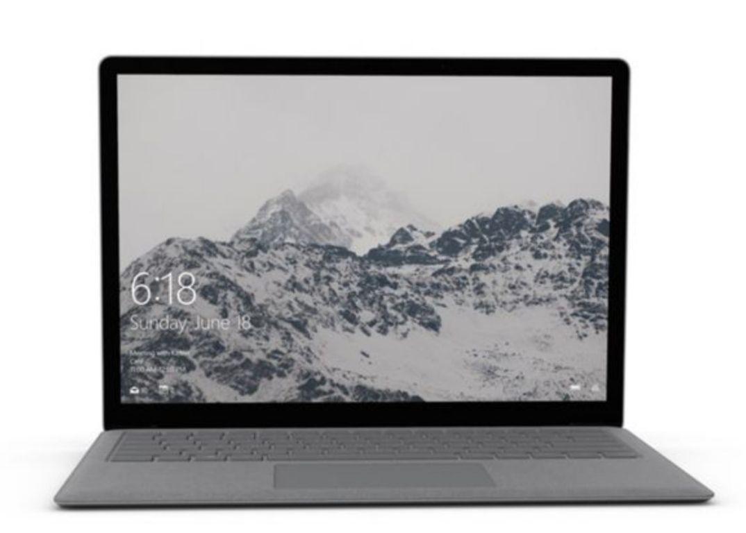PC Portable Tactile 13,5' Microsoft Surface Laptop ' Tactile - QHD, i5-7200U, RAM 8Go, SSD 128Go, Windows 10 (Dépackagé, Testé & Approuvé)