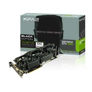 Carte Graphique  Nvidia Kfa2 GeForce GTX 980 Ti OC Black edition