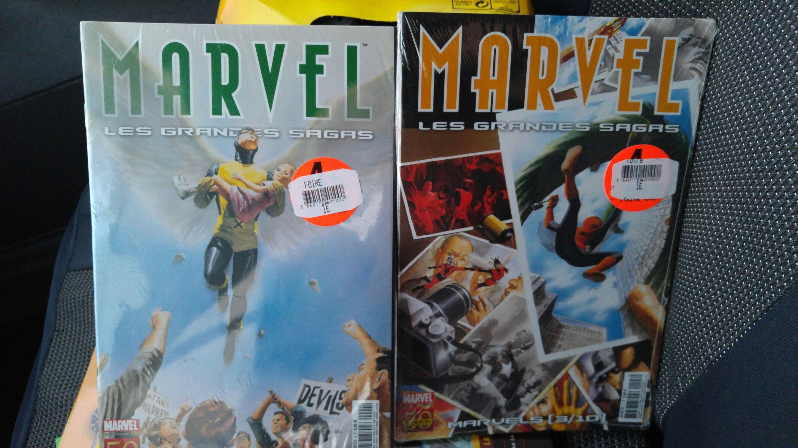 Lot de 6 Comics Marvel