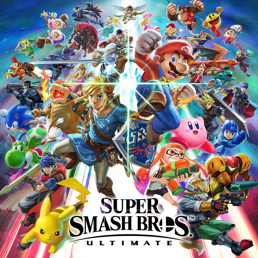Super Smash Bros. Ultimate sur Nintendo Switch (dématérialisé, compte JP)