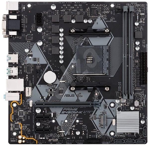 Carte mère AM4 µAtx Asus Prime B450M-K