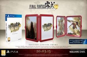 Final Fantasy Type 0 HD Edition Frame Ps4 et Xbox One